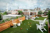 Peregrin, which sits atop Perry Lane Hotel's north tower, raises the bar for rooftop lounges. (Perry Lane Hotel/Courtesy)