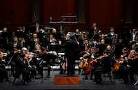 The Fort Worth Symphony Orchestra performs at Bass Performance Hall in Fort Worth, Texas on January 11, 2019.  (Lawrence Jenkins/Special Contributor)(Lawrence Jenkins/Special Contributor)