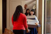 Marie Kondo's new Netflix series puts her methods to the test in different California homes.(Denise Crew/Netflix)