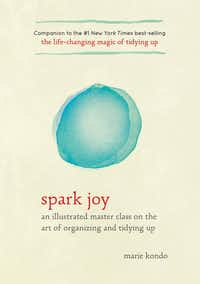 Decluttering guru Marie Kondo, the author of books such as <i>Spark Joy</i> and <i>The Life-Changing Magic of Tidying Up</i>,&nbsp;is now winning over converts on Netflix.&nbsp;(Ten Speed Press)