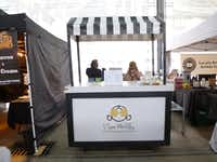 I See Waffles, with its cute stand, brings Belgian waffles to the Dallas Farmers Market.(Kim Pierce/Special Contributor)
