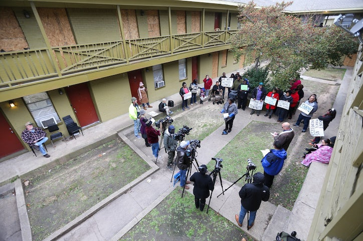 In East Dallas A Cry For Help From Low Income Residents