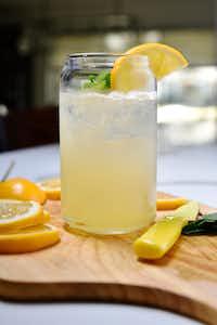 A honey mint lemonade mocktail(Ben Torres/Special Contributor)
