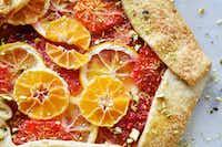 Rustic citrus galette(Ben Torres/Special Contributor)