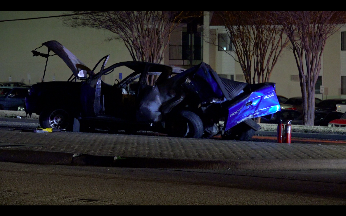 dwi suspect charged in police chase that ended in fiery haltom city