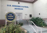 The privately funded U.S. Border Patrol Museum chronicles the evolution of the law enforcement agency. (Russell Contreras/The Associated Press)