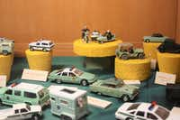 Models at the museum show various vehicles used over the years by Border Patrol agents. (U.S. Border Patrol Museum)
