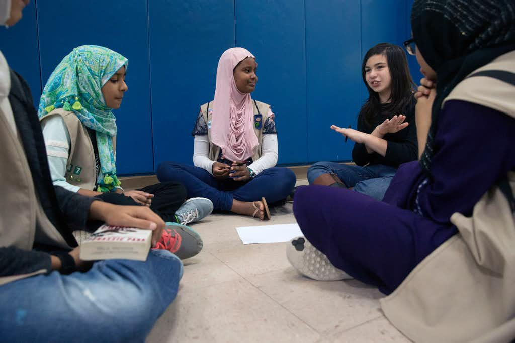 Muslims in North Texas find Girl Scouts a 'safe place' for celebrating their faith, culture