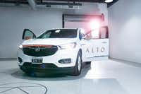 One of the SUVs operated by ridesharing startup Alto.(Alto)