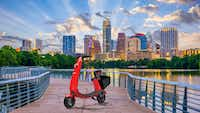 OjO Electric launches new scooter rideshare service in Austin, Texas(Hand-out/OjO Electric)