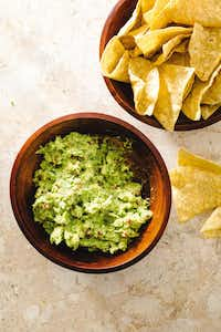 Guacamole from from 'The Complete Cookbook for Young Chefs' by America's Test Kitchen.(Carl Tremblay)