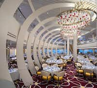 """<p>Most workers in the<span style=""""font-size: 1em; background-color: transparent;"""">Nieuw Statendam's dining hall trained at one of two Holland America Line academies, in Jakarta and Manila.</span></p>(Holland America Line/Courtesy)"""