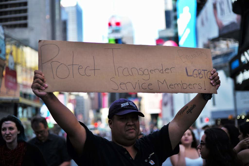 Supreme Court: Trump's transgender ban on military service can stand while appeals continue