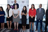 Leadership Academy Fellows from the Latino Center for Leadership Development were recognized during the leadership academy kickoff reception at the W Hotel in Dallas on Aug. 02, 2018.(Ben Torres/Special Contributor)