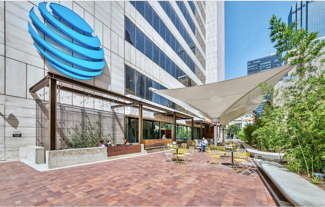Ownership in downtown Dallas' AT&T Tower is up for sale again