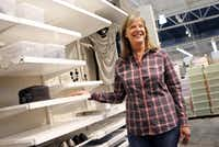 The Container Store's chief merchandising officer Sharon Tindell.(Lara Solt/Staff Photographer)