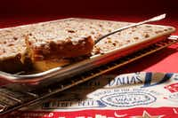 Dr Pepper White Texas Sheet Cake(Vernon Bryant/Staff Photographer)