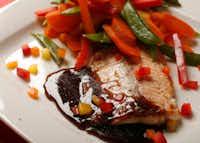 Dr Pepper Glazed Salmon(Vernon Bryant/Staff Photographer)