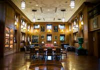 The Pecan Room inside the old nurses quarters building at Old Parkland on Jan. 10, 2018, in Dallas. (Ashley Landis/Staff Photographer)