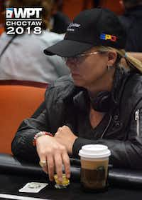 Juli Black at a World Poker Tour event last year(Eric Butler                     /IMPDI)