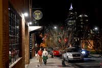 Transfer Co. Food Hall is in the oft-overlooked east side of downtown Raleigh, N.C. (Katherine Frey/The Washington Post)