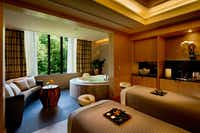 A couples treatment room at the Umstead Hotel and Spa offers a serene getaway.(The Umstead Hotel and Spa)