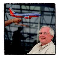 James Parker, former CEO of Southwest Airlines, photographed in his Dallas office in 2004.(ALLISON V. SMITH)