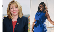 Pam Little (left) and Aicha Davis (right) were sworn in to the Texas State Board of Education.(Photos courtesy of the campaign websites.)