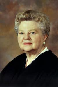 Judge Mary Lou Robinson(Amarillo Globe-News/Michael Schumacher)
