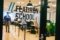 WeWork's Flatiron School teaches coding, website design and software engineering in 10 locations.(WeWork)