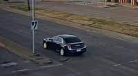 "<p>Police are searching for a man suspected of sexually assaulting a woman Monday. He was reportedly driving the black 2011<span style=""font-size: 1em; background-color: transparent;""> to 2014 Chrysler 300 shown in this image from police. </span></p>(Mesquite Police Department)"