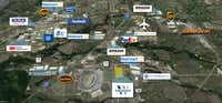 Stream Realty Partners' new industrial park is on State Highway 114 near Alliance Airport.(Stream Realty Partners)