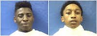 Javoya Brewer and Alexzavier Sherma<br>(Kaufman County Jail<br>)