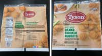Here is what the packaging looks like on those recalled Tyson chicken nuggets.(U.S. Department of Agriculture)