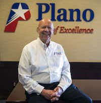 Plano's City Manager Bruce Glasscock served as police chief for more than a decade before moving into the leadership team in 2011.(Daniel Carde/Staff Photographer)