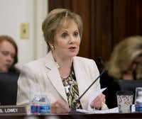 Rep. Kay Granger, R-Fort Worth, expressed optimism that Republican and Democratic negotiators could reach a deal on border security funding.(Pablo Martinez Monsivais/AP)