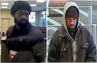 Police shared surveillance images Wednesday of a man who robbed two banks in recent weeks.(Dallas Police Department)