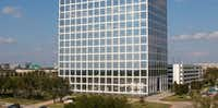 The One Legacy West tower is across the street from Toyota's U.S. headquarters in Plano.(<p>Gaedeke Group</p>)