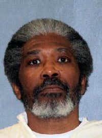 This undated photo released by Texas Department of Criminal Justice shows death row inmate Robert Jennings.(The Associated Press)