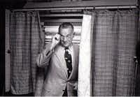 May 6, 1978: Bill Clements leaves a voting booth.(File Photo /Staff)