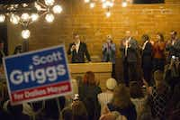 Dallas City Council member Scott Griggs announced just three weeks ago that he will run for mayor, and already several of his supporters are creating distractions in the race.(Daniel Carde/Staff Photographer)