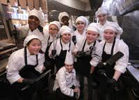 Executive chef Annie Greenslade and her students run Blu Community Bistro at Allen High School in Allen.(Jason Janik/Special Contributor)