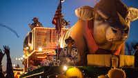 The Krewe of Centaur parade in Shreveport has many interesting floats.(Jim Noetzel)