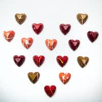 Kate Weiser Diamond Heart Collection chocolates(Ryan Michalesko/Staff Photographer)