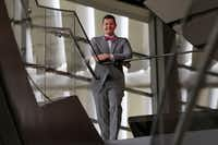 Dallas Opera director Ian Derrer at Winspear Opera House in Dallas(Jae S. Lee/Staff Photographer)