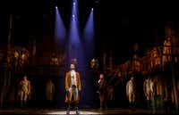 A scene from the national tour of <i>Hamilton</i>, which will play Bass Performance Hall in Fort Worth in 2020.(Bass Performance Hall)