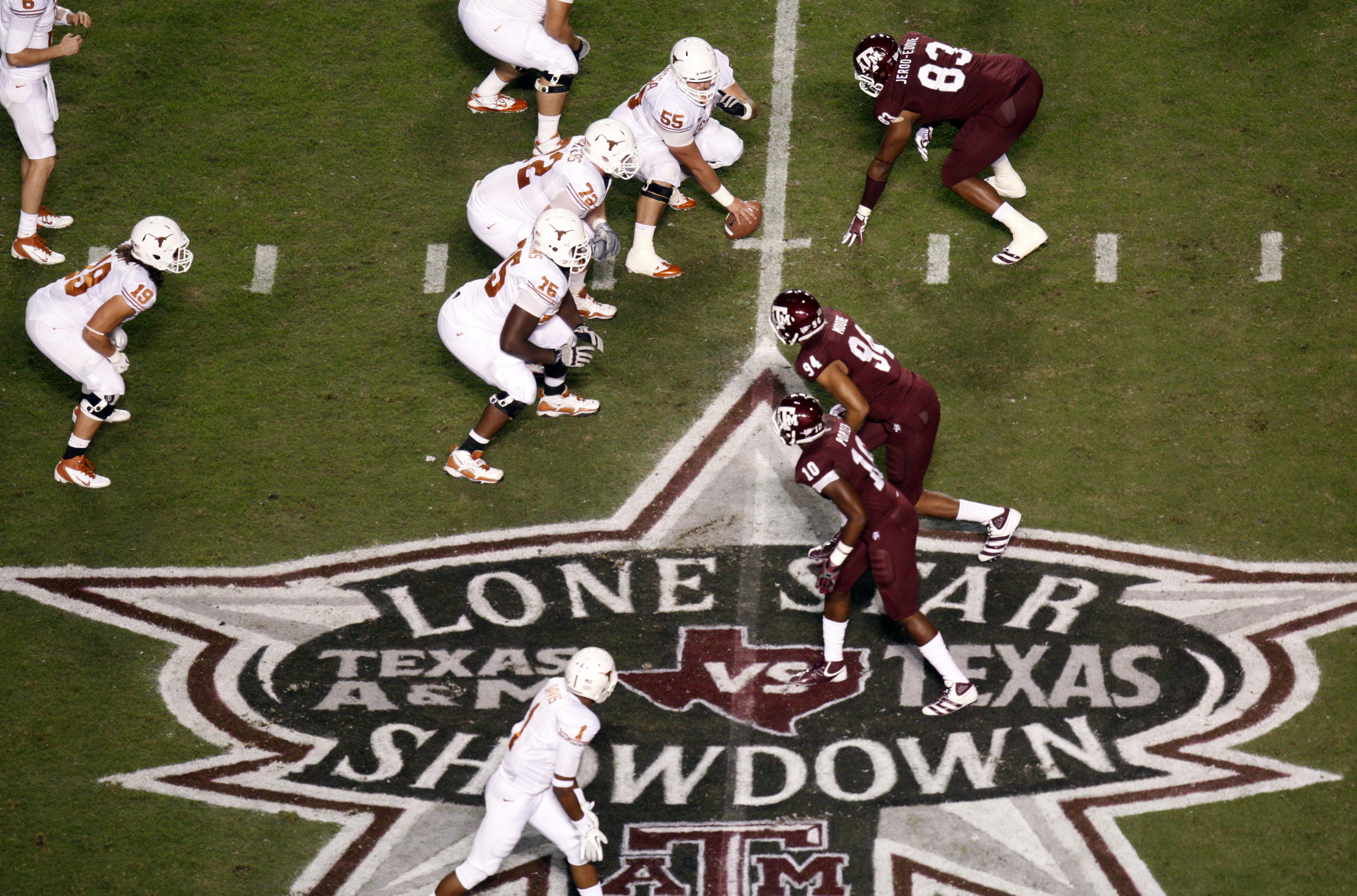8c67f6666f2 Texas Gov. Greg Abbott pushes revival of the Longhorns vs. Aggies football  rivalry