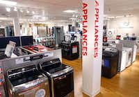 Appliances at the J.C. Penney in Collin Creek Mall in Plano, Texas, in March, 2018.(Tom Fox/Staff Photographer)