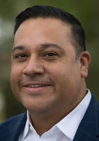 Former state representative Jason Villalba after he announced he will run for Dallas mayor at his grandmother's house in Dallas' Oak Cliff neighborhood on Tuesday, January 15, 2019.(Daniel Carde/Staff Photographer)