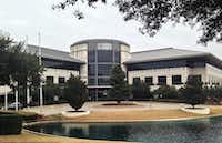 "<p>The <span style=""font-size: 1em; background-color: transparent;"">Keurig Dr Pepper office campus in Legacy could be put up for sale or lease if the beverage firm moves its local offices to Frisco.</span></p>(Steve Brown)"